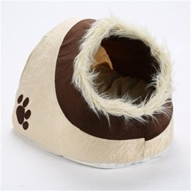 Warm Winter Sleep Relax Cave House for Cat Puppy