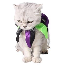 Halloween Clown Neck Suit Pet Festival Color Block Collar