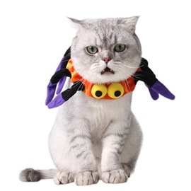 Halloween Costume Spider Neck Cat Dog Collar