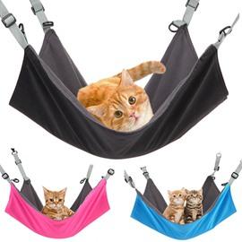 Waterproof Nylon Warm Flannelette Washable Durable Pure Color Creative Cat Hammock for All Seasons