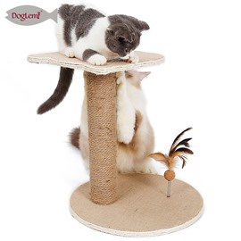 Sisal Claw Springboard Cat Double-deck Climbing Frame