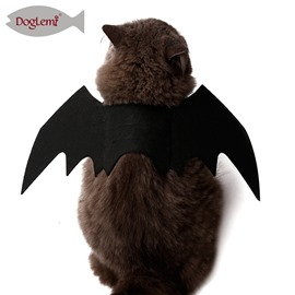 Bat Wings Black Cool Puppy Cat Black Bat Costume