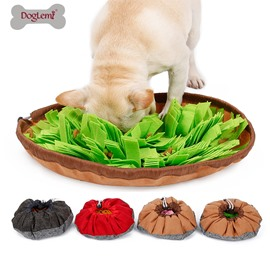 Pet Dog Smell Training Sniffing Feeding Round Mat
