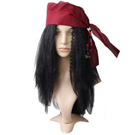 Novelty Best Selling Private Wig Halloween Prop