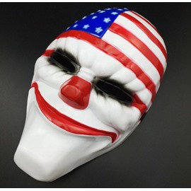 Halloween Decoration American Flag Style face shield