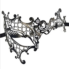 Lady Masquerade Halloween Mardi Gras Party Prom Ball face shield
