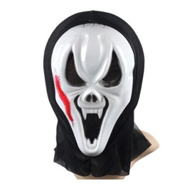 Halloween Party Cosplay Red Horror Centipede Mask