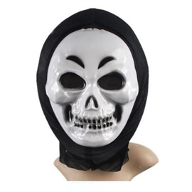 Halloween Party Cosplay Horror Smile Ghost face shield