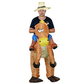 Hilarious Horse Riding on Shape Inflatable Costume