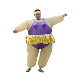 Unique Dress Up Ballet Hilarious Inflatable Costume