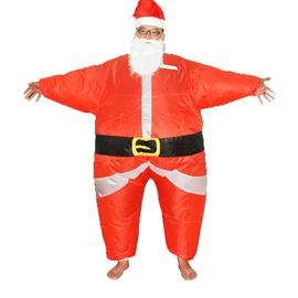 Christmas Santa Claus Cartoon Inflatable Costume
