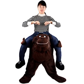 Unique Ride on Monkey Back Halloween Inflatable Costume