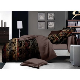 Royal Style Skincare Polyester 4-Piece Duvet Cover Sets