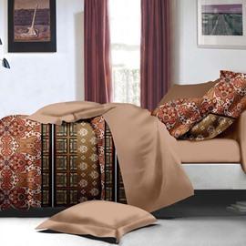 Intelligent Design Noble Polyester 4-Piece Duvet Cover Sets