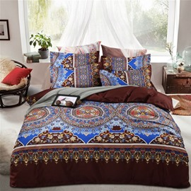 Bohemian Exotic Style Lightweight Polyester 4-Piece Bedding Sets