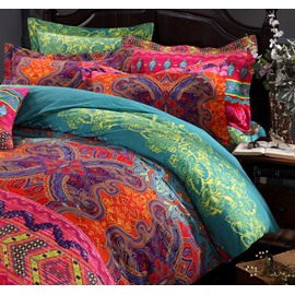 Luxury Bohemia Style Ethnic Pattern 4-Piece Bedding Sets/Duvet Cover