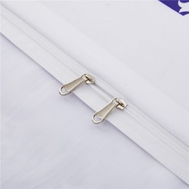White Regular Geometric Pattern Printing Polyester 4-Piece Bedding Sets/Duvet Cover