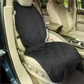 Grids And Black Color Front Car Seat Mat