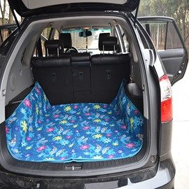 Environment Suede Material Mat After The Rear Seat