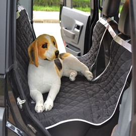 New Large Size Easy Install Durable Oxford Universal Car Pet Rear Seat Mat