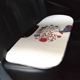 Fashion Cool 1-Piece Antlers Pattern Design Single Universal Car Rear Seat Mat
