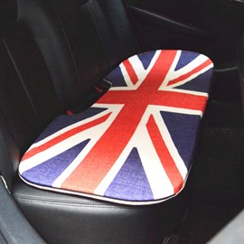 Fashion Cool 1-Piece Union Jack Pattern Design Single Universal Car Rear Seat Mat
