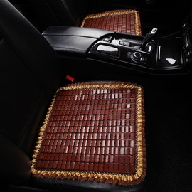 Bamboo Chip Material Simple Style Universal Fit Seat Covers