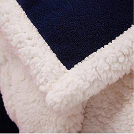 Flag of Retro British Union Jack Pattern Soft Flannel Bed Blanket