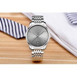 41mm Waterproof Automatic Steel Belt Classic Calendar Date Men's Wrist Watches