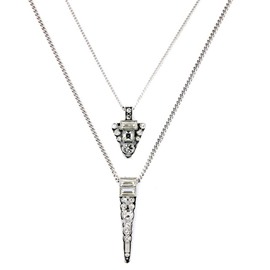 Women' s Cool Diamante Strand Necklace
