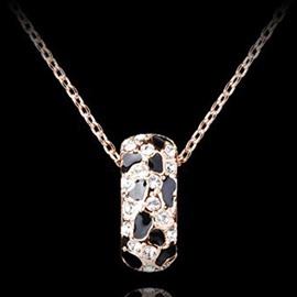 Shining Rhinestone Simple Design Alloy Jewelry Sets