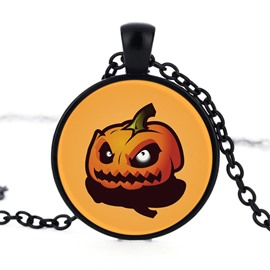 Alloy Pumpkin Pattern Sexy Fashion Halloween Necklace
