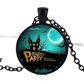 Alloy Popular Party Moon Pattern Sexy Fashion Halloween Necklace