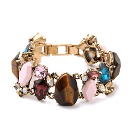 Women's Environmental Europe Style Rhionestone Bracelet