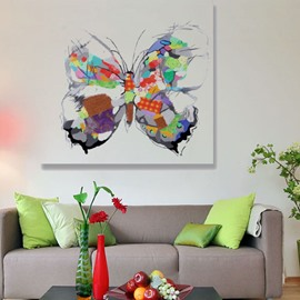 Beautiful Artistic Butterfly Hand Painted Wall Prints For Living Room