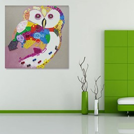 Creative Hand-Painted Owl Animal Wall Prints
