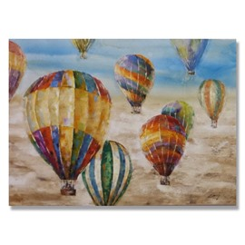 New Arrival Hand Painted Ballon Wall Art Prints
