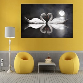 Wall Art World Swan Painting Home Decor