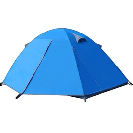 1-2 Person Double Layers and One Bedroom Outdoor Waterproof Camping and Hiking Tent