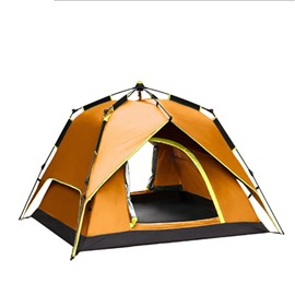 3-4 Person Outdoor Double Layers Automatic Instant Camping and Hiking Tent