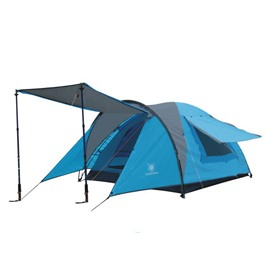 3-4 Person Outdoor One Bedroom Two Layers Lightweight Waterproof Camping and Hiking Tent