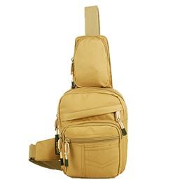 6L Outdoor Cycling Shoulder Sling Unbalance Satchel Lightweight Bag
