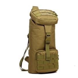 Men's Nylon Single Shoulder Durable Outdoor Camping Trekking Bag Square Daypack