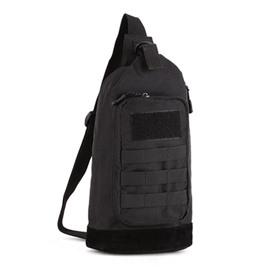 Men's Single Shoulder Unbalance Outdoor Camping Backpack