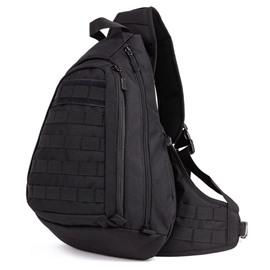 Men's Cool Unbalance Backpack Crossbody Sling Shoulder Triangle Daypack