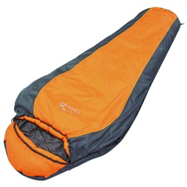 Outdoor Ultralight Camping Orange Color Mummy Sleeping Bag