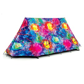 2-Person Unique Style Colorful Outdoor Tent with Two Layers Waterproof Camping Tent