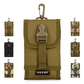 Nylon Waterproof Hangable MOLLE System Larger Telephone Bag Backpack