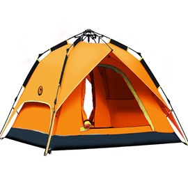Camping Throwing Pop Up 3-4 Persons Double-layer Automatic Speed Open Tent