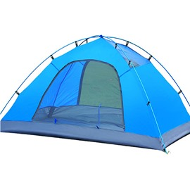 Camping 2 Persons Double-layer Set up Open Tent